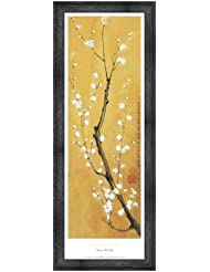 Cherry Blossom by Suzanna Mah Fong – 11.75 X 36インチ – アートプリントポスター LE_851529-F10588-11.75x36