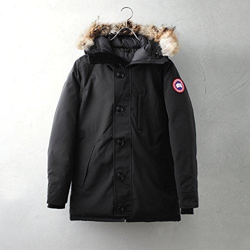 CANADA GOOSE JASPER ブラック 国内正規品 XXS カナダグース ジャスパー ダウンジャケット
