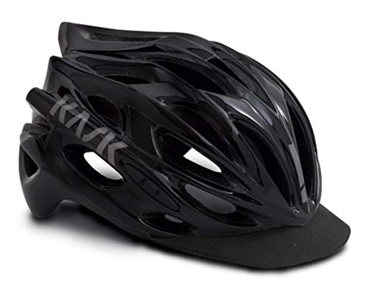 敏感な暗唱するマルクス主義者KASK(カスク) ヘルメット MOJITO X PEAK BLK L サイズ:59-62cm