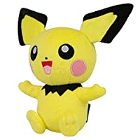 TomyポケモンSmall Plush , Pichu Toy Figure