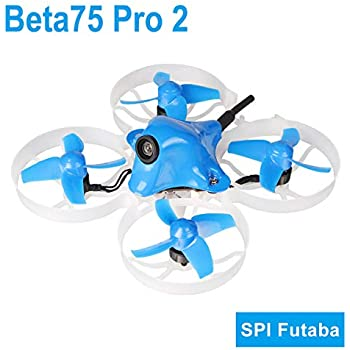 BETAFPV Beta75 Pro 2 Brushless Whoop Drone with 2S F4 AIO FC Futaba Recevier 5A ESC 25mW Z02 Camera 35 Degree OSD Smart Audio 12000KV 08028 Motor PH2.0 Cable for Tiny Whoop FPV Racing