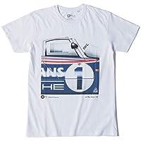 Original Race(オリジナル レース) ポルシェ 956 Tシャツ PTU-LeMans 1982-B 半袖 メンズ 1982年 ル・マン24時間レース レーシングカー ホワイト XLサイズ