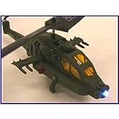 光る戦闘機アパッチタイプ赤外線ラジコンヘリコプター