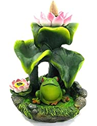 [INCENSE GOODS(インセンスグッズ)] FROG BACKFLOW INCENSE BURNER