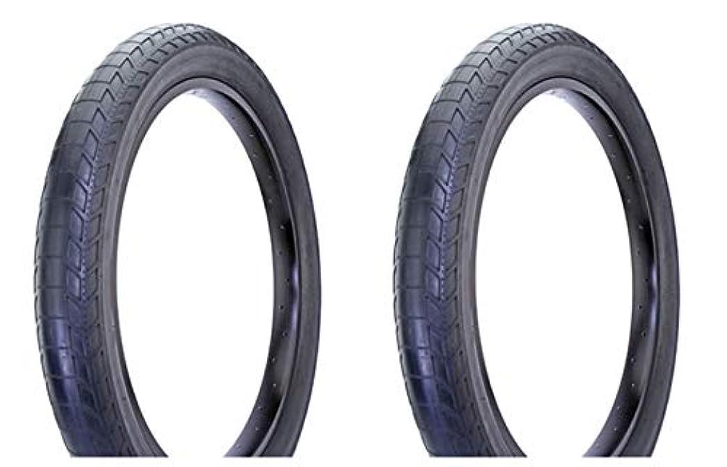電気技師メッシュコートLowrider Duro バイクタイヤセット 2タイヤ 2タイヤ 26インチ x 4.00インチ ブラック/ブラック サイドウォール DB-9041 26インチバイク用 26インチの自転車ホイールに対応。