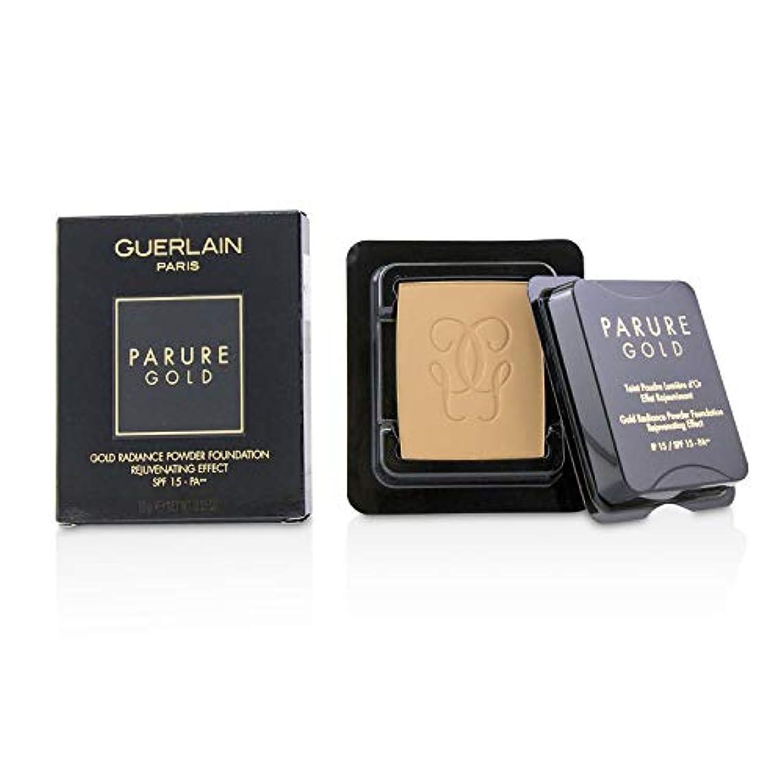 仲間次へ吸い込むゲラン Parure Gold Rejuvenating Gold Radiance Powder Foundation SPF 15 Refill - # 12 Rose Clair 10g/0.35oz並行輸入品