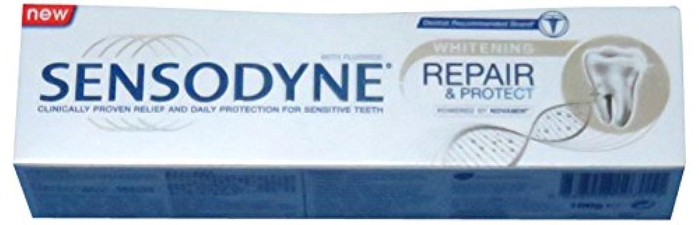 SENSODYNE Whitening REPAIR & PROTECT 100g センソダイン ホワイトニング リペアー&プロテクト 100g [並行輸入品]