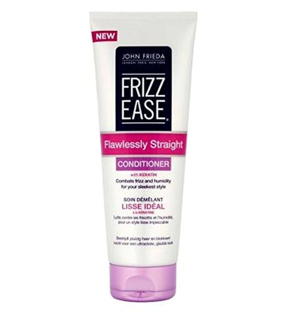 心配郡古代John Frieda Frizz-Ease Flawlessly Straight Conditioner 250ml - ジョン?フリーダ縮れ-容易完璧ストレートコンディショナー250Ml (John Frieda)...