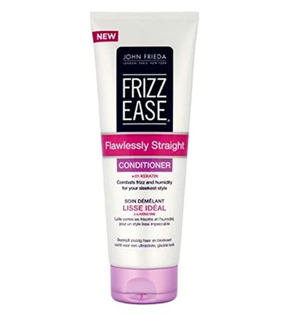 油対処ハンバーガージョン?フリーダ縮れ-容易完璧ストレートコンディショナー250Ml (John Frieda) (x2) - John Frieda Frizz-Ease Flawlessly Straight Conditioner...
