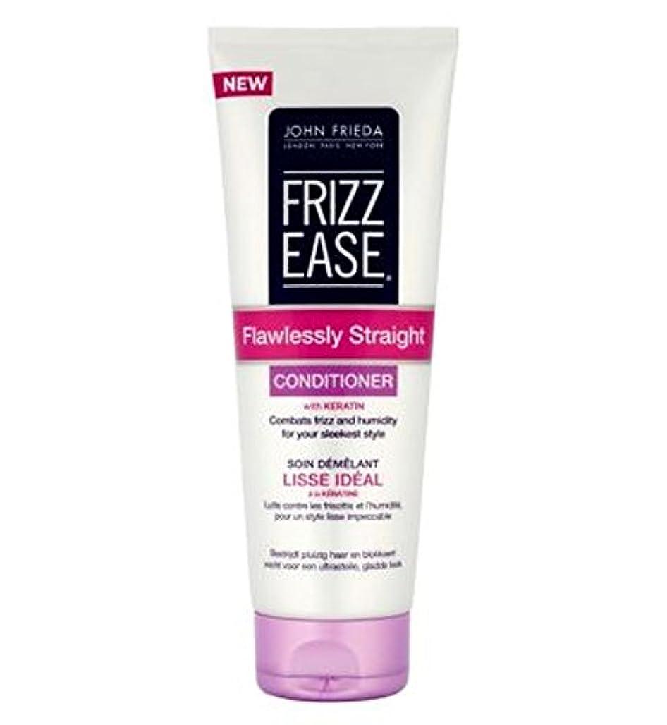 スチールスナップガラスジョン?フリーダ縮れ-容易完璧ストレートコンディショナー250Ml (John Frieda) (x2) - John Frieda Frizz-Ease Flawlessly Straight Conditioner...