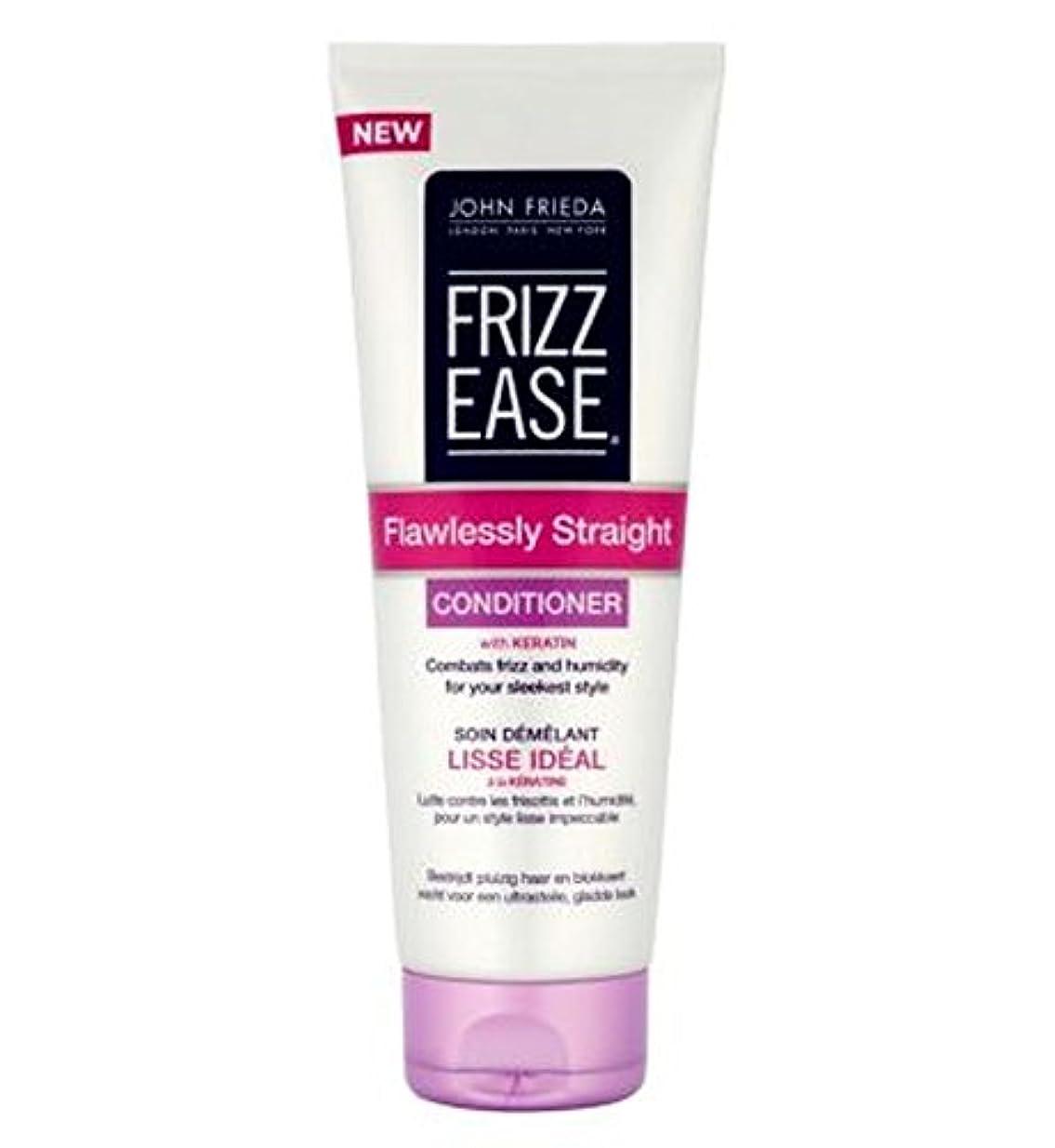 たっぷりしがみつく同性愛者ジョン?フリーダ縮れ-容易完璧ストレートコンディショナー250Ml (John Frieda) (x2) - John Frieda Frizz-Ease Flawlessly Straight Conditioner...