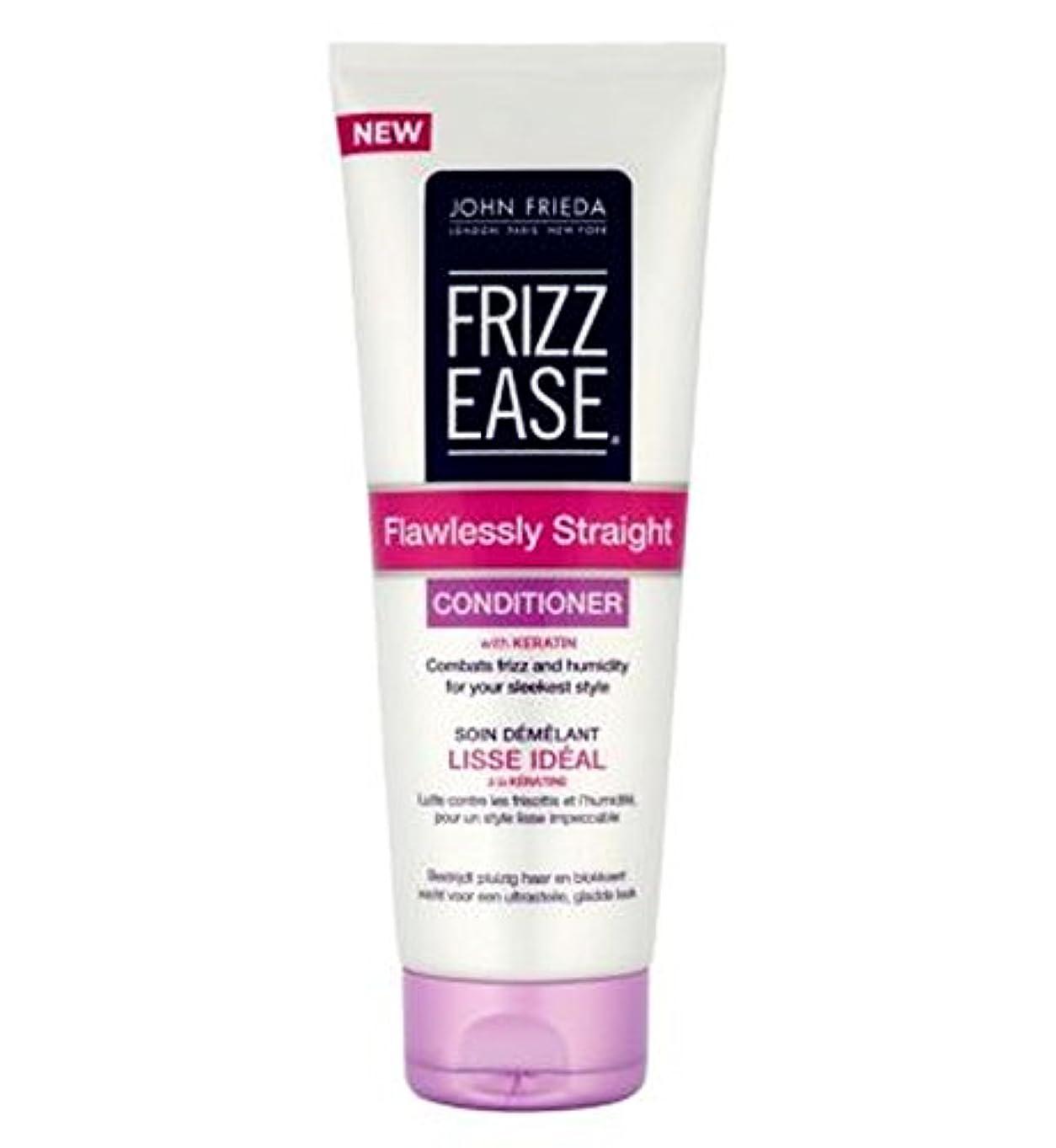 ストレスセントマトンジョン?フリーダ縮れ-容易完璧ストレートコンディショナー250Ml (John Frieda) (x2) - John Frieda Frizz-Ease Flawlessly Straight Conditioner...