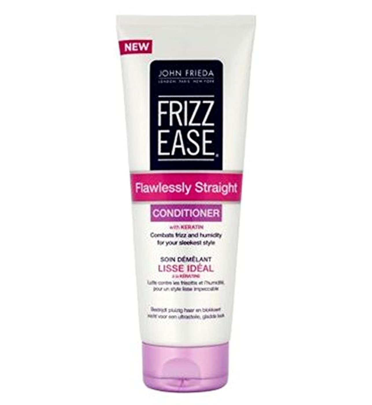 ボウル上下するオーロックジョン?フリーダ縮れ-容易完璧ストレートコンディショナー250Ml (John Frieda) (x2) - John Frieda Frizz-Ease Flawlessly Straight Conditioner...