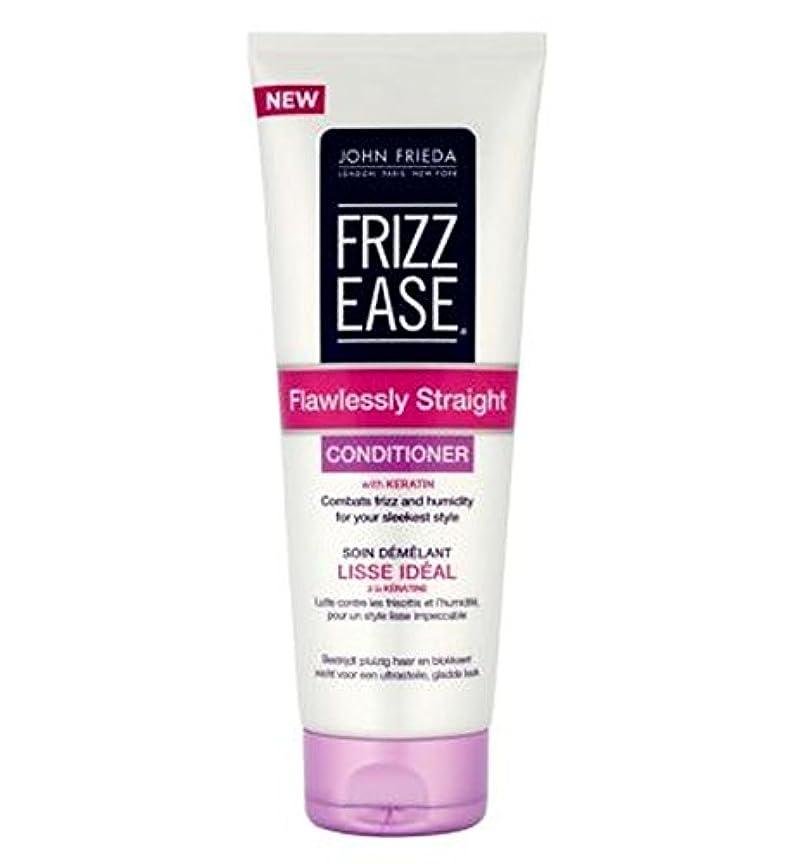 四回トラップ担当者John Frieda Frizz-Ease Flawlessly Straight Conditioner 250ml - ジョン?フリーダ縮れ-容易完璧ストレートコンディショナー250Ml (John Frieda)...