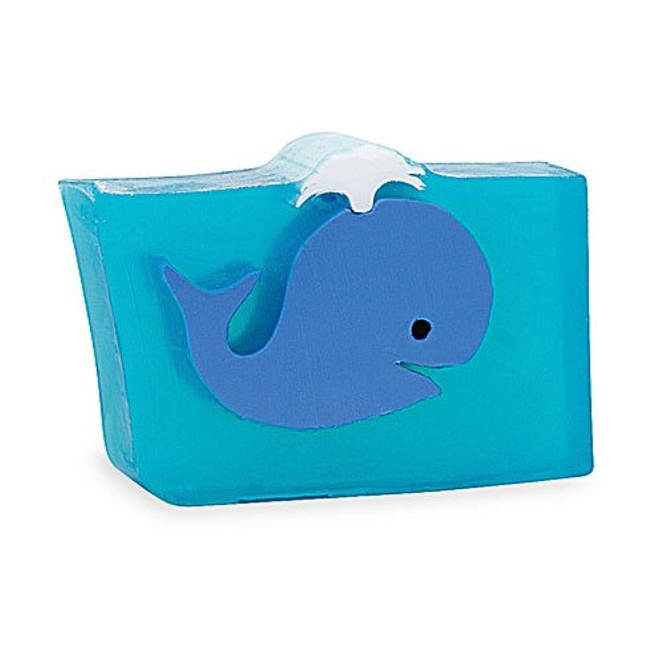 朝の体操をするにコピープライモールエレメンツ アロマティック ソープ クジラ 180g 植物性 ナチュラル 石鹸 無添加