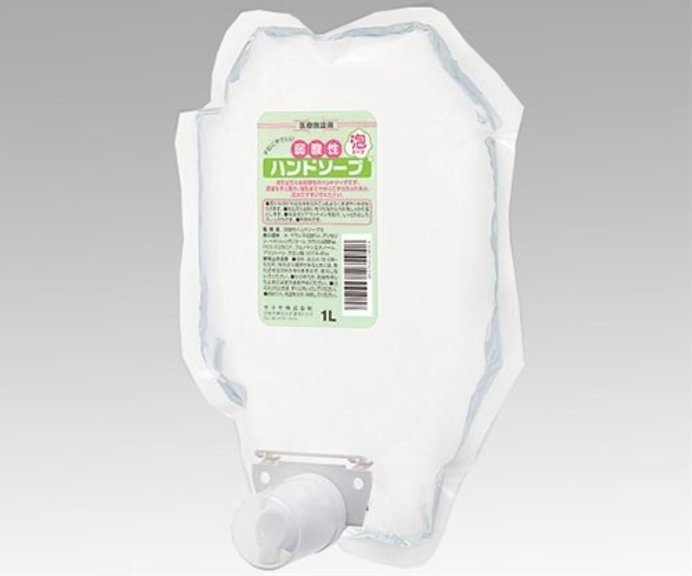 ブレーキ気球ハンマーサラヤ 弱酸性ハンドソープ 泡タイプ / 0-8762-07
