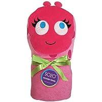SOZO(ソゾ)女の子用ピンクてんとう虫フード付バスタオル,テントウムシブランケット,毛布,プール,スイミングスクール,お風呂 [Baby Product]