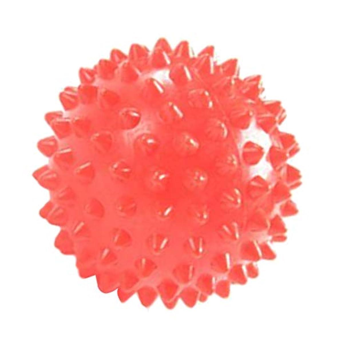 保存する農夫王族マッサージローラー マッサージボール 触覚ボール リハビリ ヨガ練習 7cm オレンジ