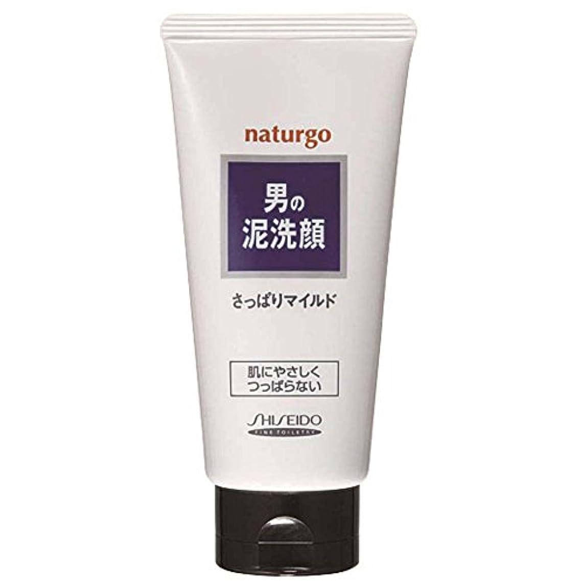 無一文認知密度ナチュルゴ メンズクレイ洗顔フォーム白 130g [並行輸入品]
