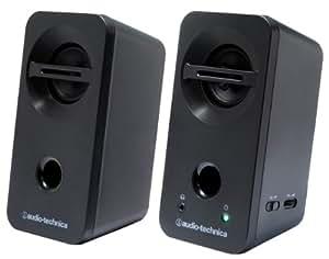 audio-technica デスクトップスピーカー ブラック AT-SP93 BK