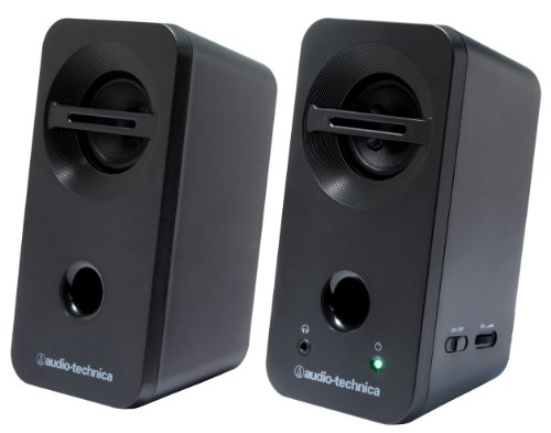 オーディオテクニカ デスクトップスピーカー ブラック AT-SP93 BK 1個