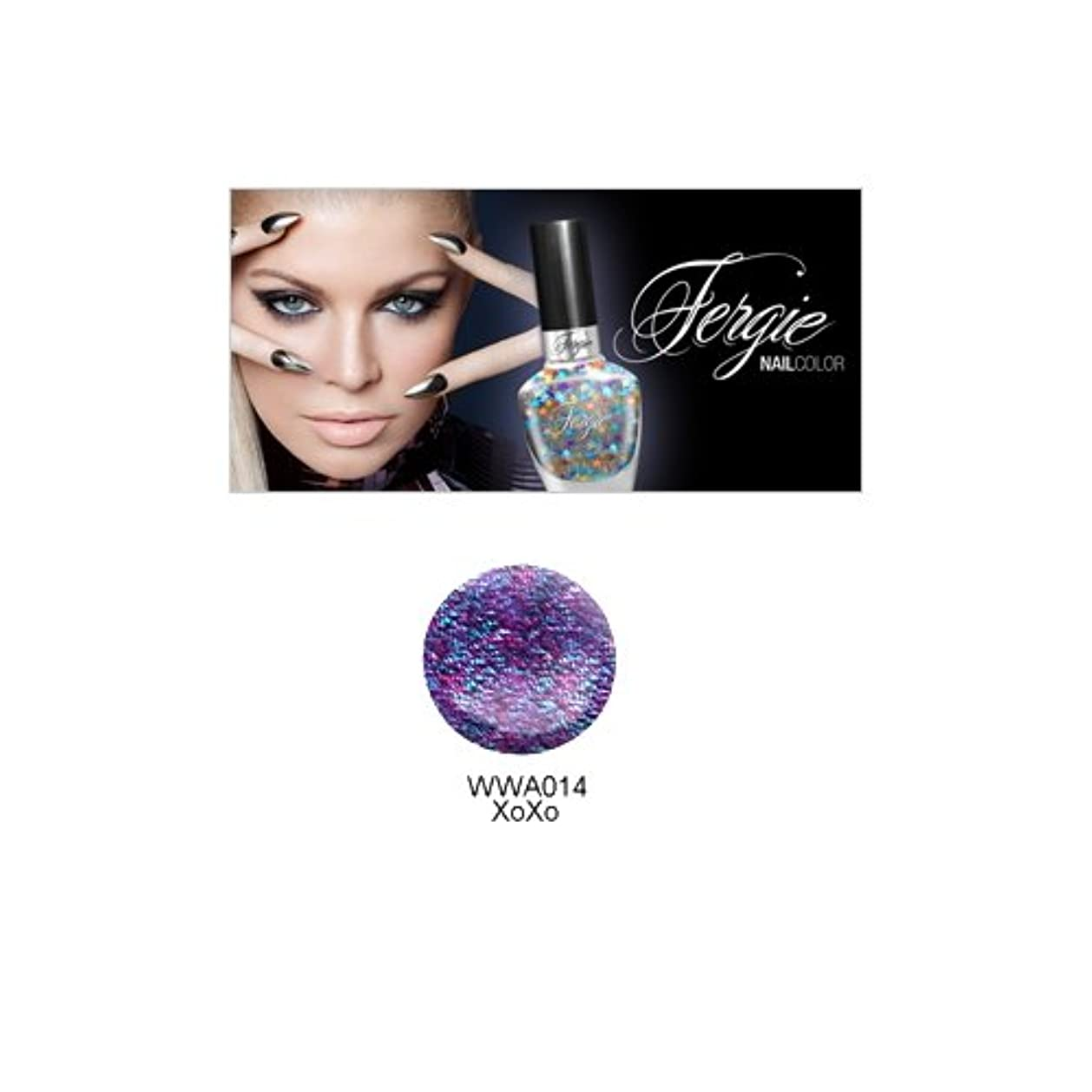 (3 Pack) Wet N Wild FERGIE NAIL COLOR - XoXo (DC) (並行輸入品)