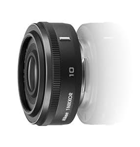 Nikon 単焦点レンズ 1 NIKKOR 10mm f/2.8 ブラック ニコンCXフォーマット専用