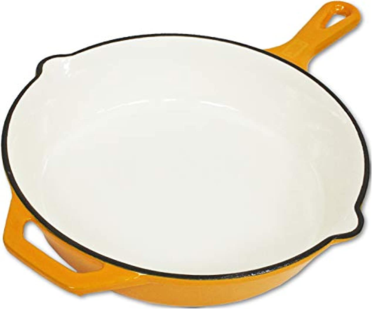 累計機械的びっくりチャムス(CHUMS) 鍋 カラースキレット10インチ CH62-1260-Y001-00 イエロー