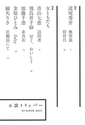 小説 TRIPPER (トリッパー) 2017 夏号 2017年 6/30 号 [雑誌]