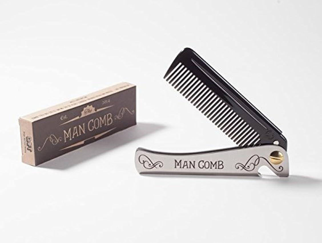 性差別確率本質的にMan Comb 'Limited Edition'. The Ultimate Tool for your Hair, Beard and Beer. [並行輸入品]
