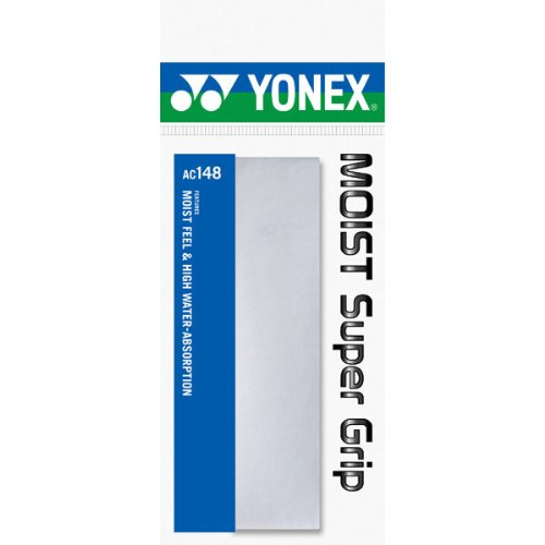 ヨネックス モイストスーパーグリップ ホワイト 1セット 20本:1本×20パック