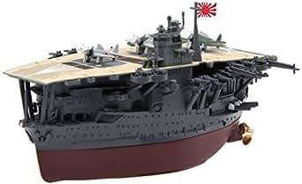 フジミ模型 ちび丸艦隊シリーズ No.4 赤城 全長約11cm ノンスケール 色分け済み プラモデル ちび丸4