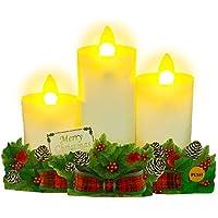 サンリオ クリスマスカード 洋風 ライト&メロディ ポップアップ キャンドル3本 S7310