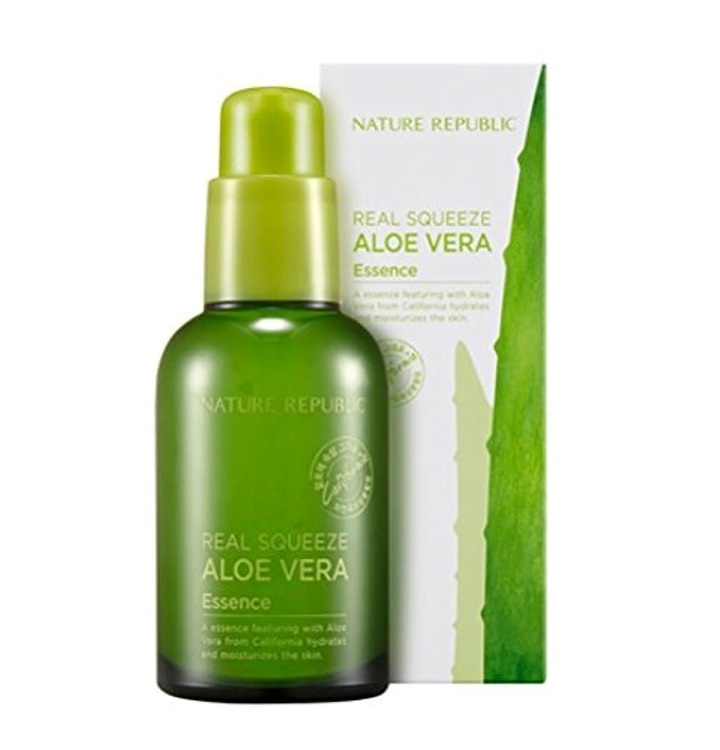 シットコム流す口[Nature Republic]ネイチャーリパブリック[Real Squeeze Aloe Vera Essence](リアルスクィーズアロエベラエッセンス) [並行輸入品]