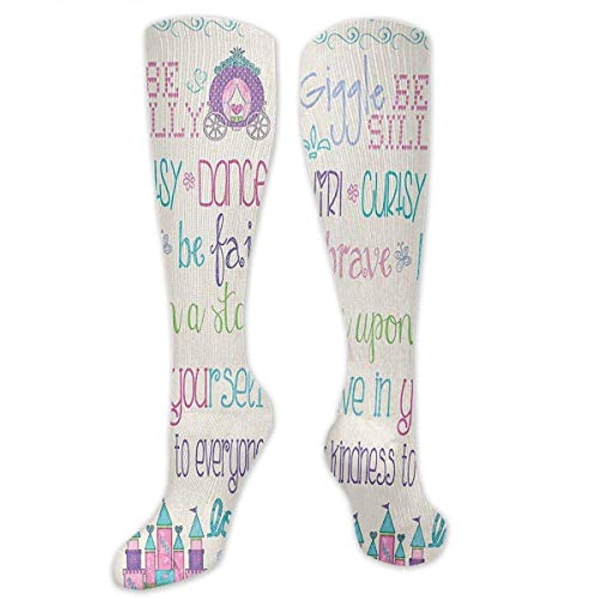 代わりにを立てる時折銀行靴下,ストッキング,野生のジョーカー,実際,秋の本質,冬必須,サマーウェア&RBXAA Princess Rules Castle Carriage Socks Women's Winter Cotton Long Tube...