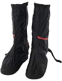 SM SunniMix 防水 雨 雪 ブーツ 靴カバー ギア ハイキング バイク 再利用可能 オーバーシューズ