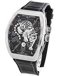 a9986df031 フランクミュラー ヴァンガード タイガー 世界限定188本 クロコレザー 腕時計 メンズ FRANCK MULLER V45