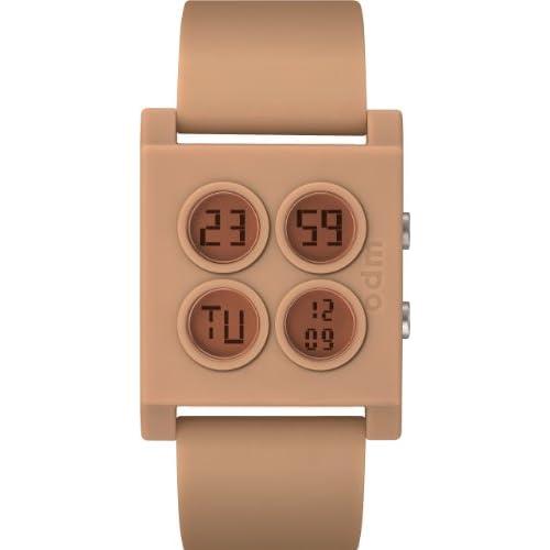 [オーディーエム]o.d.m 腕時計 XL Bloc DD107-6 クロノグラフ デュアルタイム ベージュ レディース [正規輸入品]