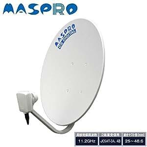 マスプロ電工 スカイパーフェクTV!用CSアンテナ45cm CS45SP
