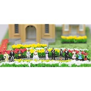トミーテック ジオコレ 情景コレクション ザ・人間117 結婚式の人々 ジオラマ用品
