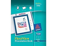 Avery Flexi-View Presentation Book, Blue, 12-Page Book (47692) [並行輸入品]