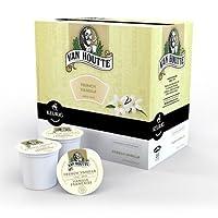 Keurig   キューリグK-カップ  ヴァンHoutteフレンチバニラコーヒー  18個 並行輸入品