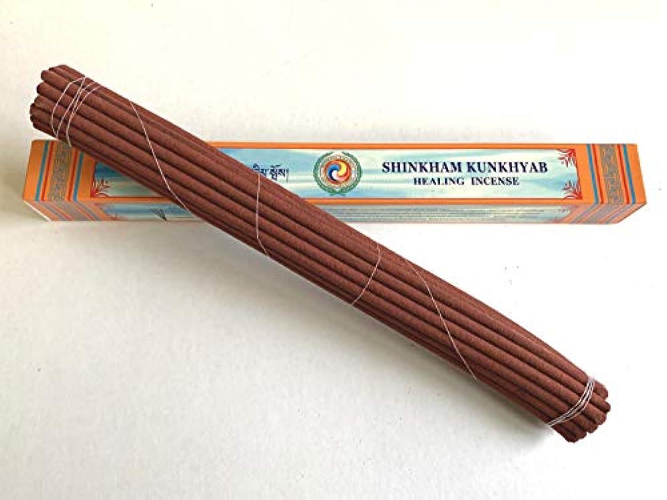 用量重々しいブローホールBonpo Tsang Agarbathi Factory/シンカムクンキャブ ロング(天堂藏香) SHINKHAM KUNKHYAB(LONG) 約25本入り