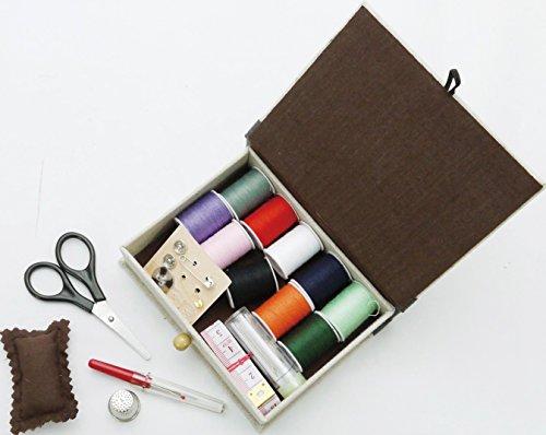現代百貨裁縫箱NEEDLEEORKソーイングボックスK758