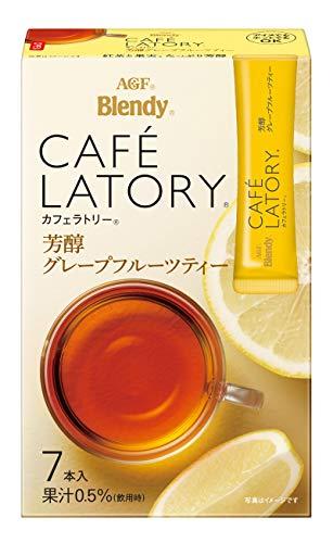 味の素AGF ブレンディ カフェラトリー スティック 芳醇グレープフルーツティー 1セット(21本:7本×3箱)