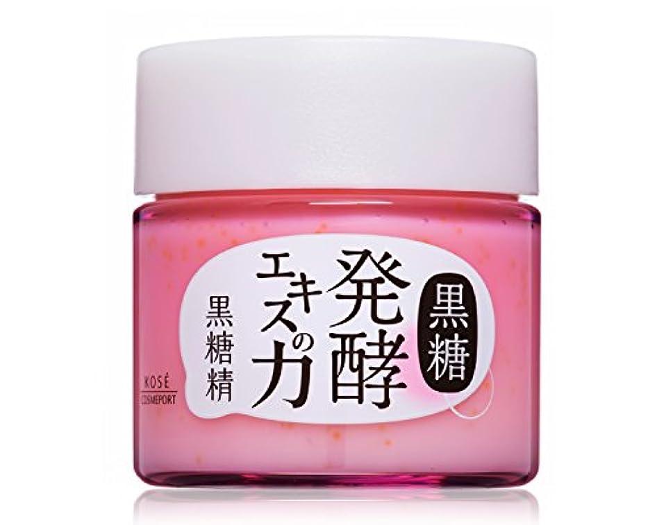 曲けん引最初はKOSE コーセー 黒糖精 美容液 オイルinクリーム 80g