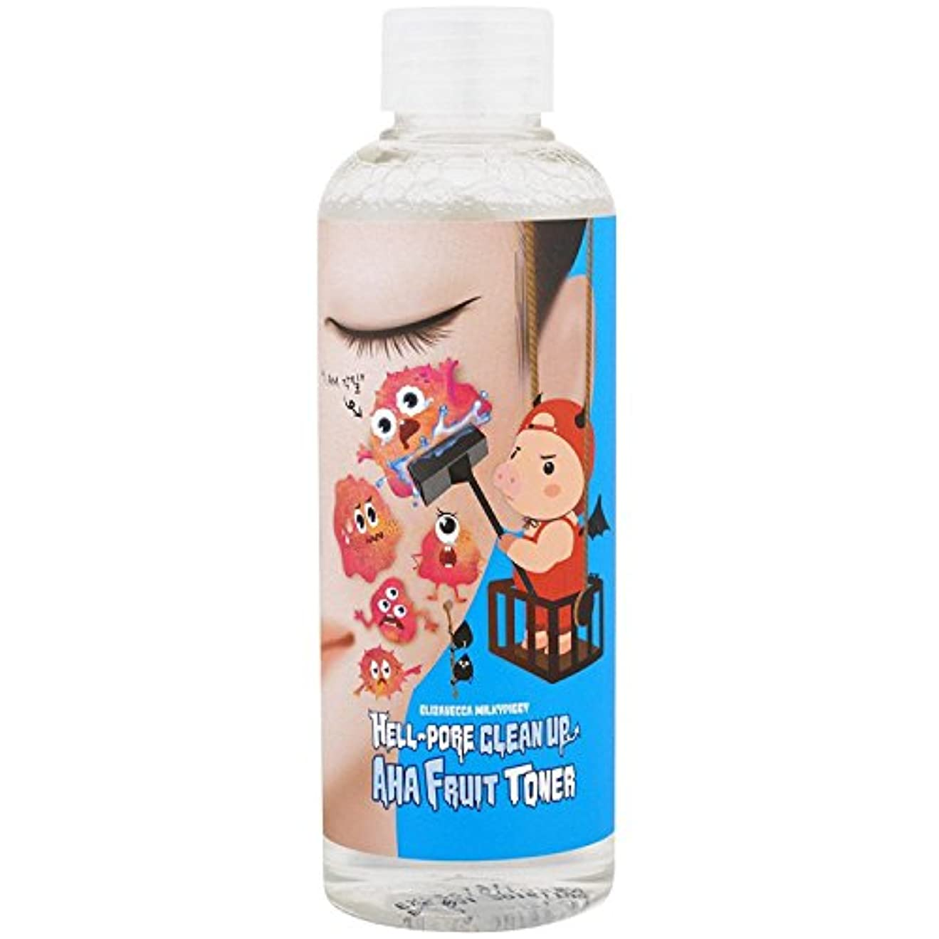 慣性後方にホースELIZAVECCA Hell-Pore Clean Up AHA Fruit Toner (並行輸入品)