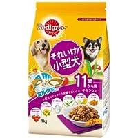 (まとめ)ペディグリー それいけ!小型犬 11歳から用 チキン入り 1kg【×12セット】【ペット用品・犬用フード】
