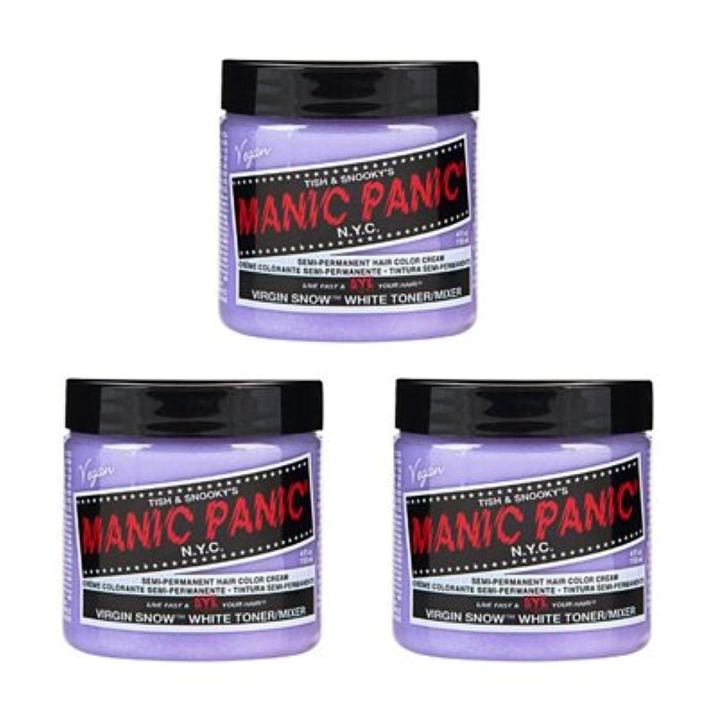 季節プロフェッショナル流【3個セット】MANIC PANIC マニックパニック Virgin Snow (ヴァージン?スノー) 118ml