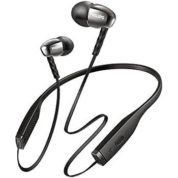 PHILIPS SHB5950 Bluetoothイヤホン カナル型 ブラック SHB5950BK 【国内正規品】